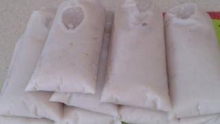 getlinkyoutube.com-helados de platano con leche bolis o saborines