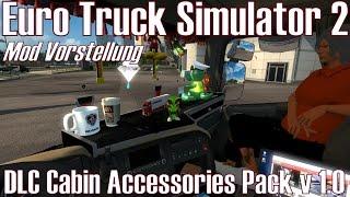 getlinkyoutube.com-ETS2 ★ DLC Cabin Accessories Pack v 1.0 ★ Mod Vorstellung [Deutsch/HD]