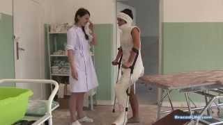getlinkyoutube.com-Pam Minerva-HipSpica Plaster Cast