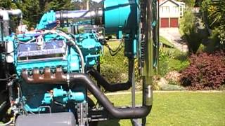 getlinkyoutube.com-Detroit Diesel 8v71 project part 6 Finished