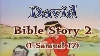 Kids David Bible Story- దావీదు బైబిల్ కథ Telugu- 2