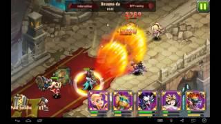 getlinkyoutube.com-Magic Rush Heroes: Baggins Mostrando Seu Poder.