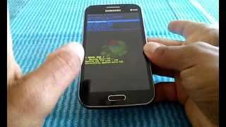 getlinkyoutube.com-Samsung Galaxy Win GT-i8550, i8552, Hard Reset, Como Formatar, desbloquear,  Restaurar, resetear