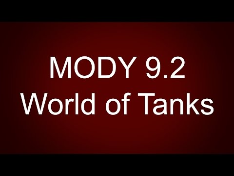Mody 9.2 do World of tanks