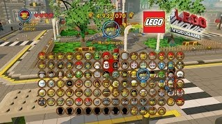 getlinkyoutube.com-The Lego Movie Video Game: Unlocking Most of the Characters (Shopping Spree)