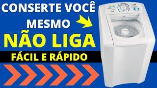 getlinkyoutube.com-Electrolux LTE12 Não Liga/ Não Funciona - Troca da micro chave