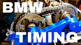 getlinkyoutube.com-Timing setup procedure double VANOS BMW E46,E39,E60,E83,E85 M52TU,M54,M56 330,325,320