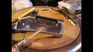 getlinkyoutube.com-Winchester 1897 Receiver Disassembly, Part 1: Breech Bolt