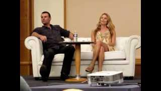 getlinkyoutube.com-Panel Dan Feuerriegel, Stephen Dunlevy, Ellen Hollman et Dustin Clare - Rebels Spartacus
