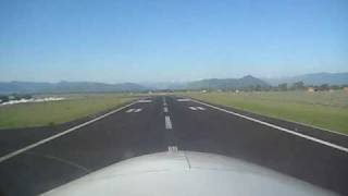 getlinkyoutube.com-Cessna 310 Takeoff from Jackson Hole