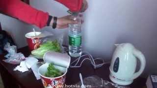 getlinkyoutube.com-มาม่าเป็ดหูหนาน Hunan noodle duck