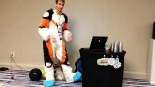 getlinkyoutube.com-Califur XI - Fursuit Boot Camp (part 1)