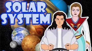 getlinkyoutube.com-Solar System | Kids Cartoon Story in English | Lehren Kids