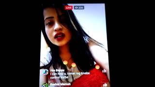 What has said Actress Sanai in fb live. লাইভে এসে যা বললেন সানাই