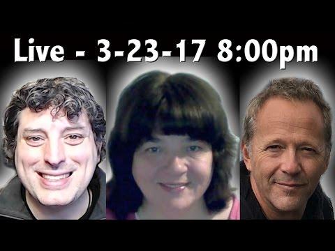 🔴 LIVE: Mandela Effect Roundtable : Case Parks & Healer Sharon 3-23-17 8:00pm EST