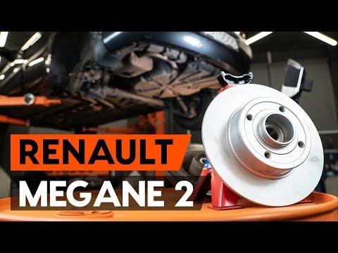 Как заменить задний подшипник ступицы RENAULT MEGANE 2 (LM) (ВИДЕОУРОК AUTODOC)