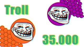 getlinkyoutube.com-InK & JaM //35.000//Troll//Agar.io//bubble.am #3