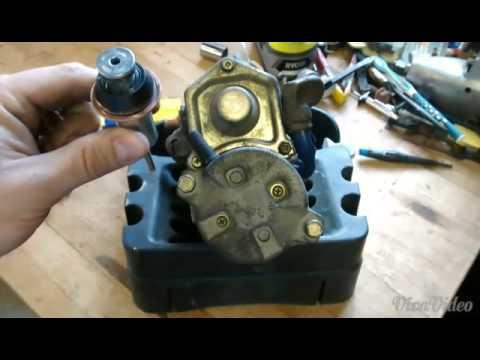 86 Toyota Camry starter solenoid rebuild