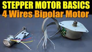 getlinkyoutube.com-Stepper Motor Basics - 4 Wires Bipolar Motor