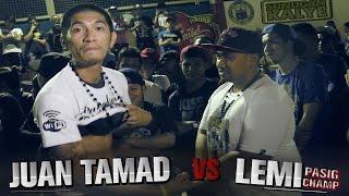 getlinkyoutube.com-SUNUGAN KALYE - Juan Tamad vs Lemi (Title Match)