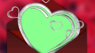 getlinkyoutube.com-Photo Frame - Love, Valentine's Day Greetings - green screen effect