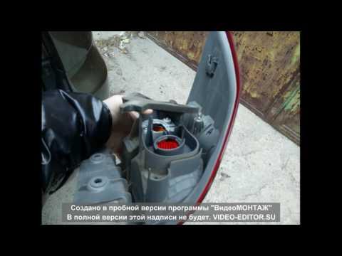 Как снять задний фонарь на Паджеро Спорт 2010 Mitsubishi Pajero Sport