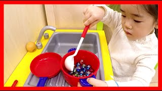 getlinkyoutube.com-Indoor playground fun play house Marble Cooking ❤Playground Aneby Trimpark Fun Play Place