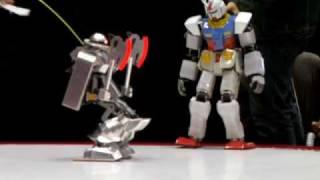 getlinkyoutube.com-The 2nd Sunrise Hero Robot Battle, Final match; automo 06 (WAKA) vs MS-06S ZakuⅡ