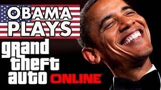 getlinkyoutube.com-President Obama Plays GTA 5 Online