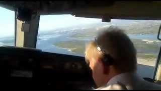 getlinkyoutube.com-B757 SYL посадка с отказом гидравлики