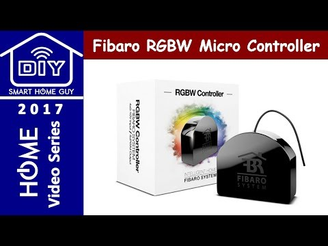 Setting up Fibaro RGBW Micro Controller Z-wave with Smart Things