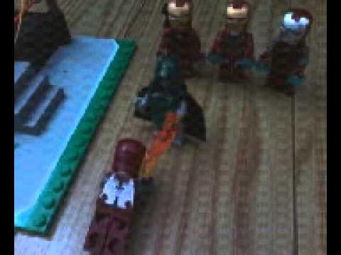 LEGO Wrestling:Iron man vs Dr doom extreme 3/29/14