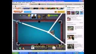 getlinkyoutube.com-Tutorial Cheat 8 Ball Long Line, Long Shoot  Otomatis Garis tepat kedalam lobang tembak
