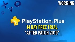 getlinkyoutube.com-How To Get Free Playstation Plus-14 Day Trial Everytime! (2015)