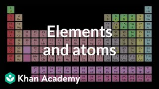 Elements and atoms | Atoms, compounds, and ions | Chemistry | Khan Academy width=