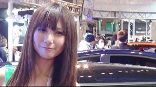 getlinkyoutube.com-日野Black Venusとコンパニオン黒崎はるか登場!! 東京オートサロン2015 SPECIAL vol.11 / TOKYO AUTO SALON