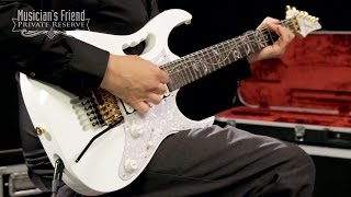 getlinkyoutube.com-Ibanez JEM7V Steve Vai Signature Electric Guitar