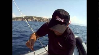 getlinkyoutube.com-Calamari in pieno giorno ..... per un dentice a pranzo