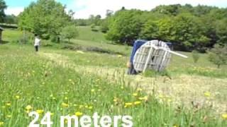 getlinkyoutube.com-Falco Spirit - Long Distance Shooting (traditional archery)