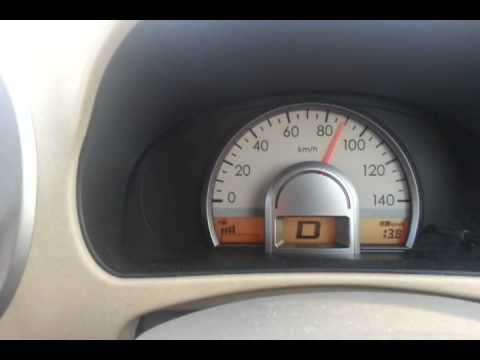 Nissan Moco S 2009 speed 100km