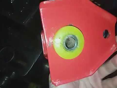 Запрессовка сайлентблока полиуретанового в рычаг Краб ТАврия Риккаровский кронштейн