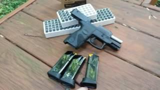 getlinkyoutube.com-Steel Cased Ammo vs.Taurus PT111 Millennium Gen 2