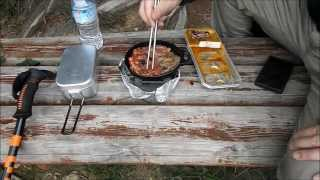 getlinkyoutube.com-尉ケ峰の山頂で焼肉を焼いてみた I baked the beef at the top of jogamine