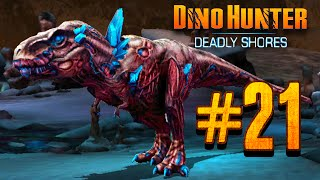 getlinkyoutube.com-Zombie Dino Hunter: Deadly Shores EP: 21 Zombie BOSS RASH!!