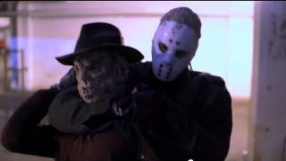 getlinkyoutube.com-Freddy VS Jason - The Rematch