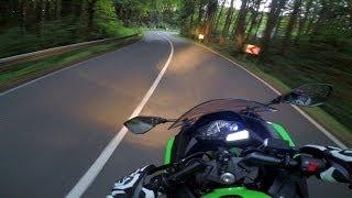 getlinkyoutube.com-Kawasaki Ninja 300 - RACING Twisties #1