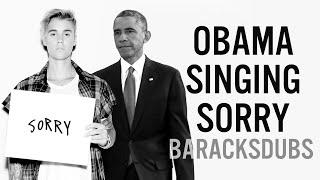 getlinkyoutube.com-Barack Obama Singing Sorry by Justin Bieber
