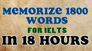 getlinkyoutube.com-Technique to memorize 100  words @ per hour