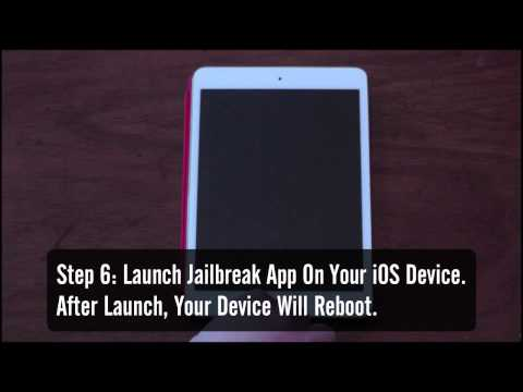 How To Jailbreak Your iOS Device Using Evasi0n
