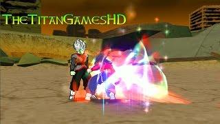 getlinkyoutube.com-Dragon Ball Z Shin Budokai 2 Mods - Zamasu Fusion Vs Goku Absalon Ssj4.5